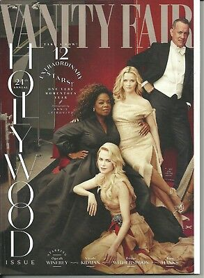 Vanity Fair Hollywood 2018 Oprah Nicole Kidman Gal Gadot Tom Hanks Zendaya L@@K!