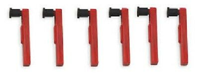 DICKSON Chart Recorder Pens, Red, P222, 6 Pack