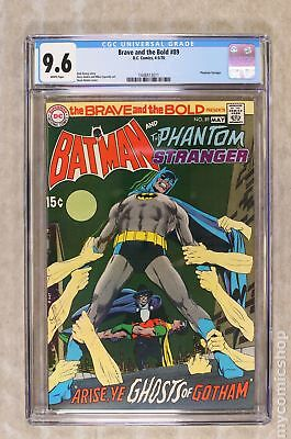 Brave and the Bold (1st Series DC) #89 1970 CGC 9.6 1448413011
