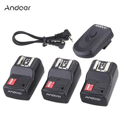 Andoer 16 Channel Wireless Remote Flash Trigger Set for Canon Speedlite NEW W6L6
