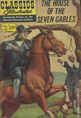 Classics Illustrated 052 The House of Seven Gables #10 1970 VG- 3.5 Stock Image