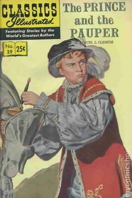 Classics Illustrated 029 The Prince and the Pauper #15 1970 VG+ 4.5 Stock Image