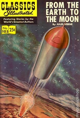 Classics Illustrated 105 From the Earth to the Moon #12 1971 FN+ 6.5 Stock Image