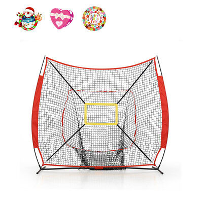 Baseball Softball Tball Multi Sports Training Practice Net Batting Cage Hitting