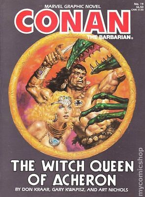 Conan the Barbarian The Witch Queen of Acheron GN (Marvel) #1-1ST 1985 VG