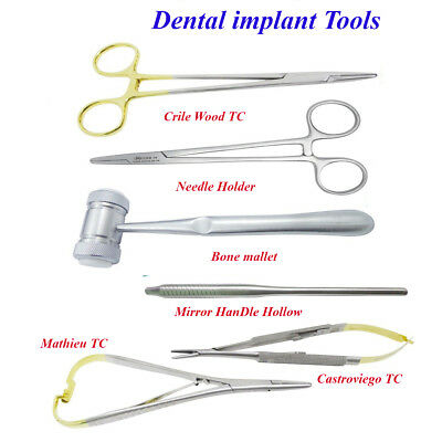 Dental Implant Kit Needle holder ,Mathieu, Castroviego Needle TC Surgical tools