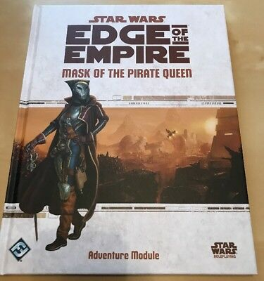 "Star Wars Edge Of The Empire RPG ""Mask of the Pirate Queen"" Adventure Mod. (FFG)"