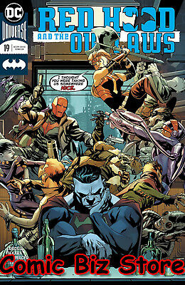 Red Hood And The Outlaws #19 (2018) 1St Printing Dc Universe Rebirth
