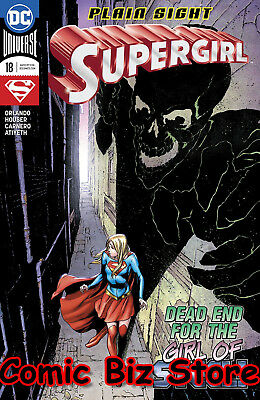 Supergirl #18 (2018) 1St Printing Bagged & Boarded Dc Universe Rebirth
