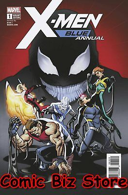 X-Men Blue Annual #1 (2018) 1St Printng Scarce 1:25 Ferry Variant Cover Poison X