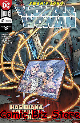 Wonder Woman #40 (2018) 1St Printing Bagged & Boarded Dc Comics Universe Rebirth