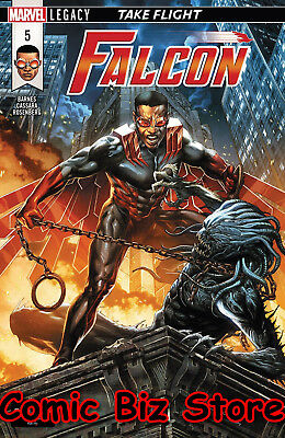 Falcon #5 (2018) 1St Printing Bagged & Boarded Marvel Legacy Tie-In