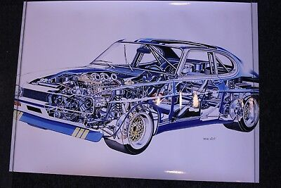 Photo Ford Capri RS (Ghost view)