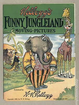 Kellogg's Funny Jungleland Moving-Pictures #0B-TOMARKET 1909 FN 6.0