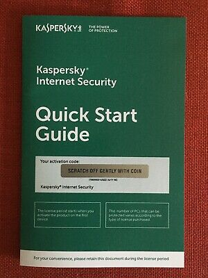 Kaspersky Internet Security 2019 w/Anti-Virus, 3 PC, 1 Year (Windows 10 8/8.1 7)