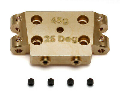 Associated 91365 FT Brass Bulkhead, 25 deg. : RC10B5 / RC10B5M / RC10SC5M