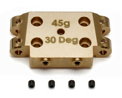 Associated 91366 FT Brass Bulkhead, 30 deg. : RC10B5 / RC10B5M / RC10SC5M