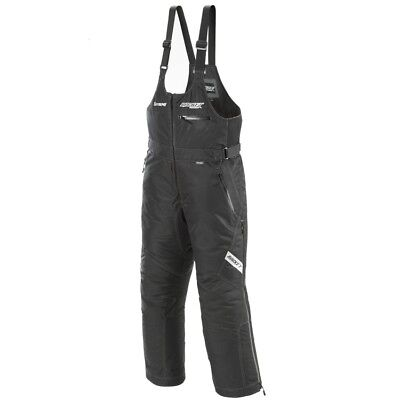 Rocket Extreme Mens Snow Bibs Black