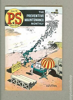 PS The Preventive Maintenance Monthly #46 1957 FN- 5.5