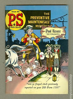 PS The Preventive Maintenance Monthly #80 1959 FN 6.0