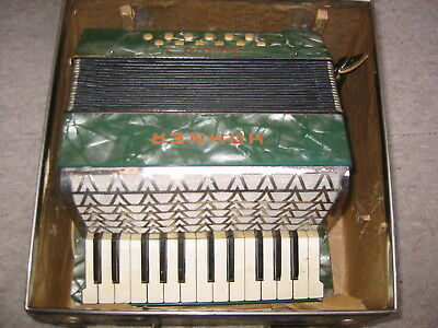 """Nice old """"Hohner impetrial I"""" pre war accordion fisarmonica collectors item"""