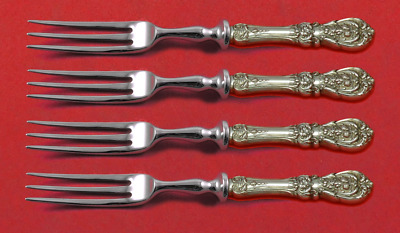 """Francis I by Reed and Barton Sterling Silver Fruit Fork Set Custom 6"""""""