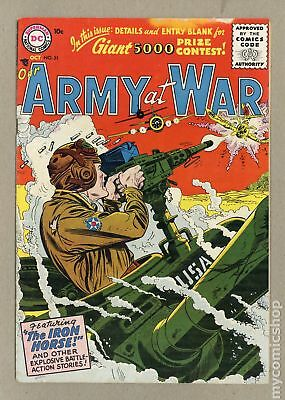 Our Army at War #51 1956 VG 4.0