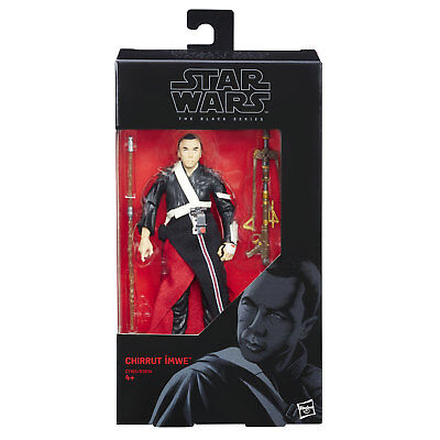 Star Wars The Black Series Rogue One 6-Inch #36 CHIRRUT IMWE Figure by Hasbro