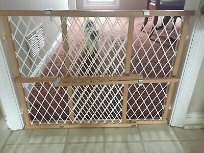 Wood Lock Position And Gate Tan Evenflo Baby Safety Pet Child Dog Door