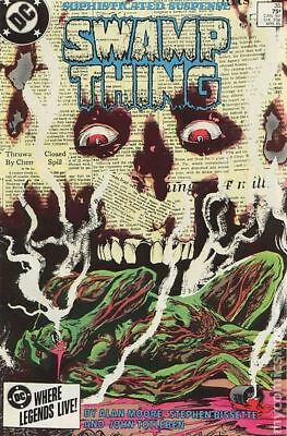 Swamp Thing (2nd Series) #35 1985 VF Stock Image