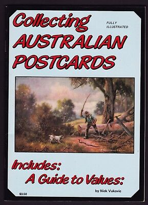 Collecting Australian Postcards illustrated guide book