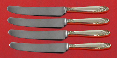 """Prelude by International Sterling Silver Fruit Knife Set 4-Piece Custom 7"""" HH WS"""