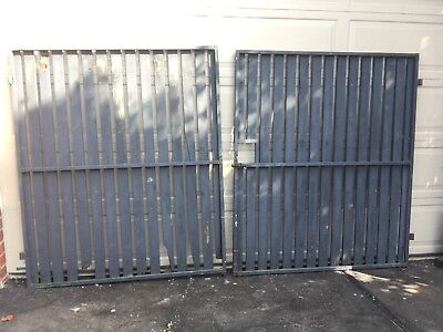 DOUBLE WIDE STEEL GATE FRAMES 1600 (H) x 2800 mm (W) STRONG 25 x 25 Tubing