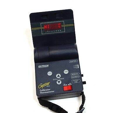 Extech The Oyster Microprocessor Calibrator Thermometer Thermocouple in Case