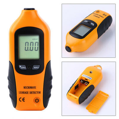 0-9.99m w/CM2 +Bag Digital LCD Microwave Leakage Radiation Detector Tester Meter