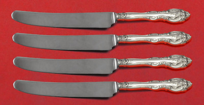 "La Scala by Gorham Sterling Silver Fruit Knife Set 4pc Custom Made 7"" HHWS"