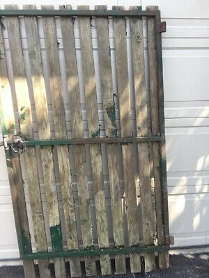 STEEL GATE FRAME 1400 (H) x 9100 mm (W) STRONG 25x25 Tubing-Gate on Slight SLANT