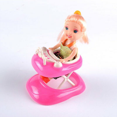 Funny Plastic Doll Accessories Mini Car Walker Toys for Barbie Doll Gift New