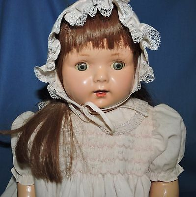 vintage American Composition Girl Doll