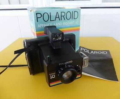 Boxed Polaroid Instant 10 Land Camera