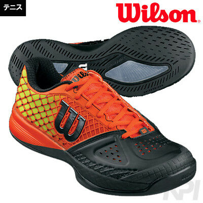 Tennis Shoes Wilson Glide Hardcourt (Black/Red/Solar Lime) Size US 9 Unisex