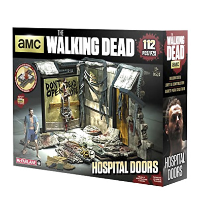 Construction Sets The Walking Dead TV Hospital Doors McFarlane Toys Play Set