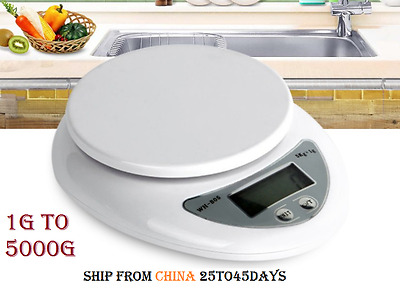 Digital Kitchen scale 5000g/1g 5kg Food Diet Electronic Scales balance Weight g