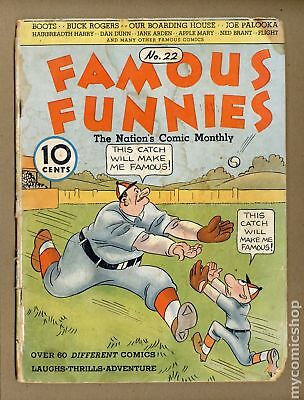 Famous Funnies #22 1936 FR 1.0
