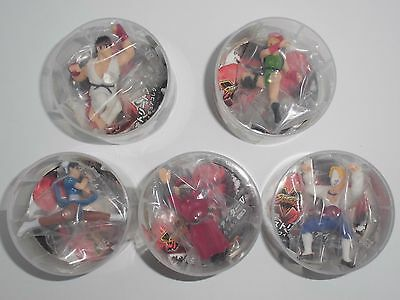 Street Fighter V Figure Collection Set Ryu Chun Li Camy Vega Bison DyDo CAPCOM
