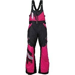 Arctiva Eclipse S7 Womens Snowmobile Bibs Black/Pink