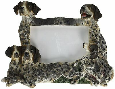 German Short Hair Pointer Picture Frame Holds Your Favorite 3 by 5 Inch Photo, A