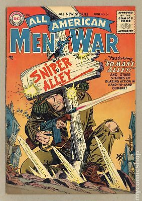 All American Men of War #34 1956 VG/FN 5.0