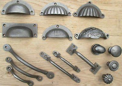 Cast Iron Rustic Chest Drawer Wardrobe Kitchen Cupboard Cabinet Handles & Knobs