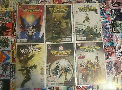 all new wolverine #1-6 near mint